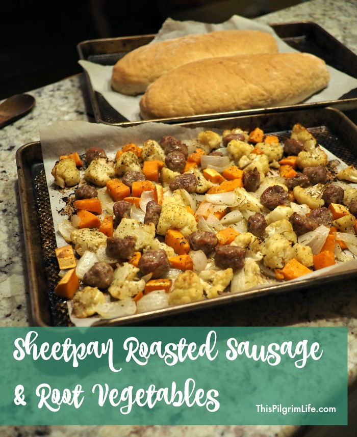 Roasting food in the oven is almost a guarantee of good flavor, especially for vegetables. So not only is this sheet pan of roasted sausage and root vegetables incredibly easy to make, it's also a major win for your tastebuds!