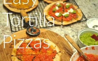 Easy Tortilla Pizzas