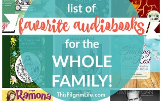 Huge List of Favorite Audiobooks for the Whole Family