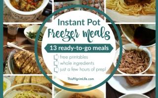 Instant Pot Freezer Meals :: Round Two