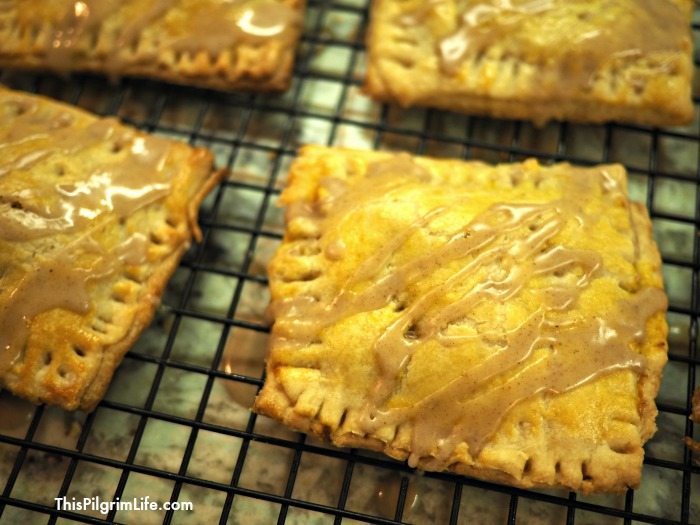Skip the boxed pop-tarts, and make these delicious pumpkin pie pop-tarts at home! The difference is amazing!