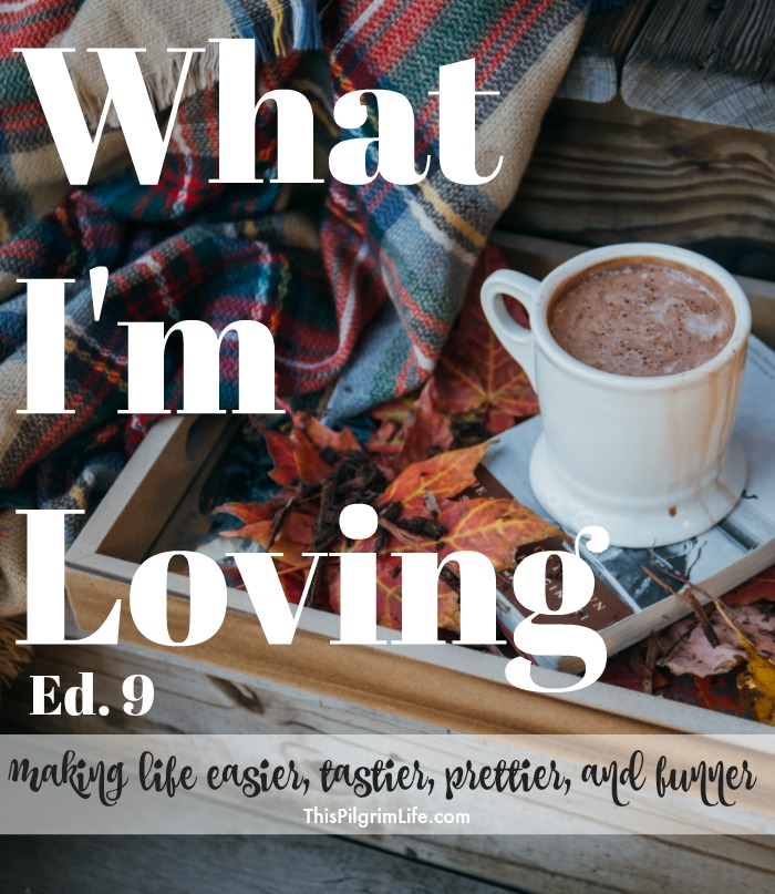 Life can be crazy and so very full. Focusing on what is making life more lovely is a great habit! Here is what is making our lives easier, tastier, prettier, and funner.