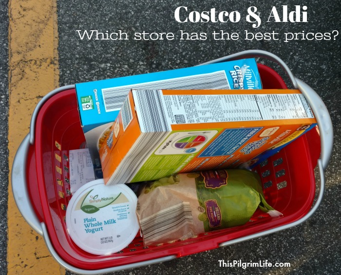 Do you know which store will save you more money? Print a FREE price comparison between Costco and Aldi-- includes over 75 items from all over both stores!