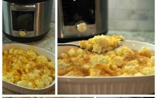 Creamy Cauliflower Au Gratin in the Instant Pot