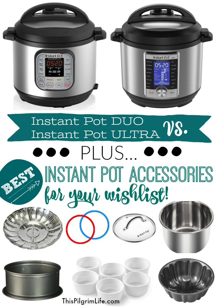 Which is better the Instant Pot DUO or the ULTRA? What accessories should you put on your wishlist this year? Keep reading to find out!