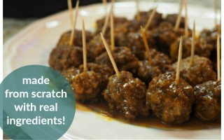 Sweet Barbecue Meatballs in the Instant Pot