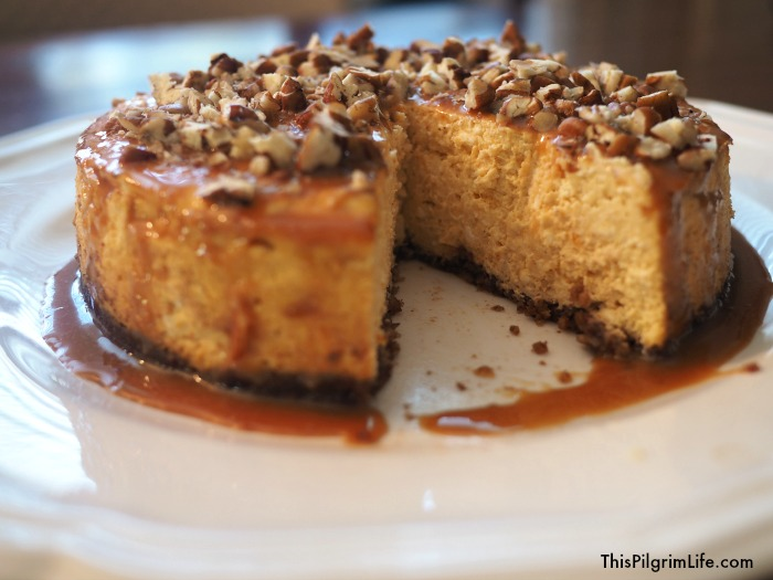 Decadent holiday desserts take on a new twist with this sweet potato cheesecake! Easy to make, quick to cook in the Instant Pot, and hard to resist!