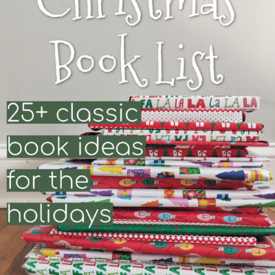 Christmas Book List || 25 Classic Book Ideas for the Holidays