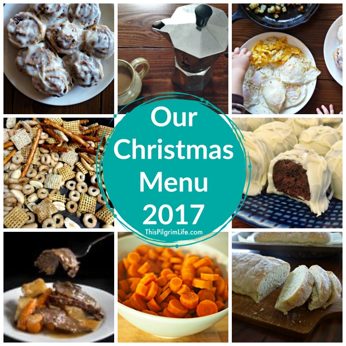 Our Christmas Menu 2017