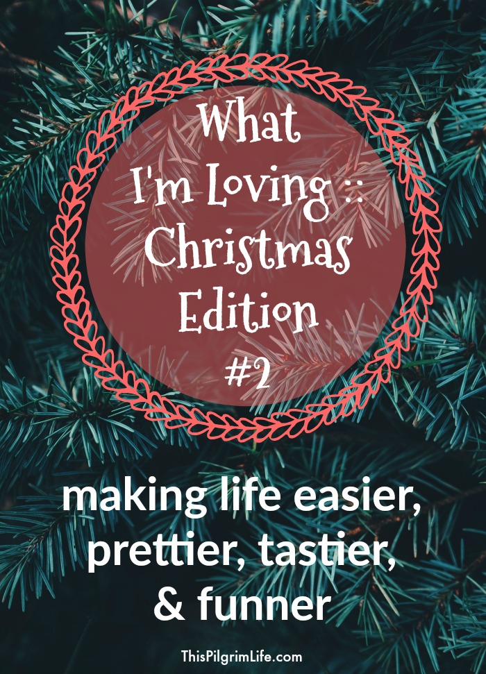 What I'm Loving- Christmas Edition #2