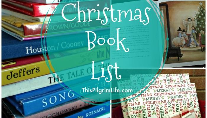 Christmas Book List
