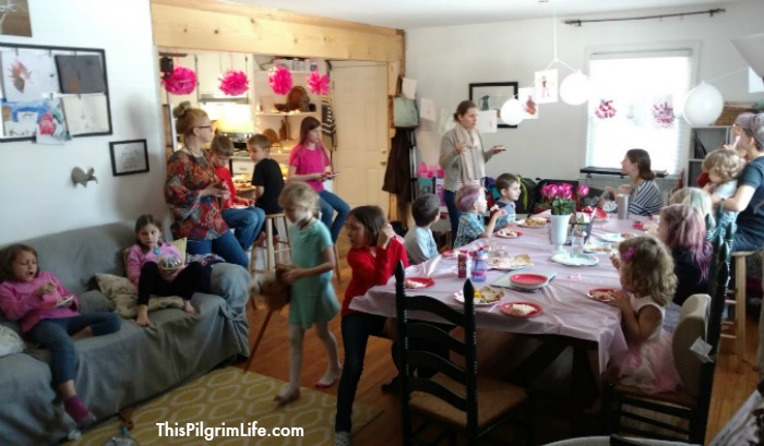 Lots of dancing fun with friends at this sweet and simple ballet birthday party!