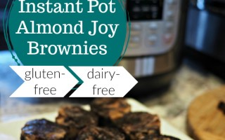Instant Pot Almond Joy Brownies — Gluten-Free & Dairy-Free
