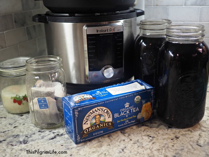 A perfect glass of iced tea can be made easily in the Instant Pot!