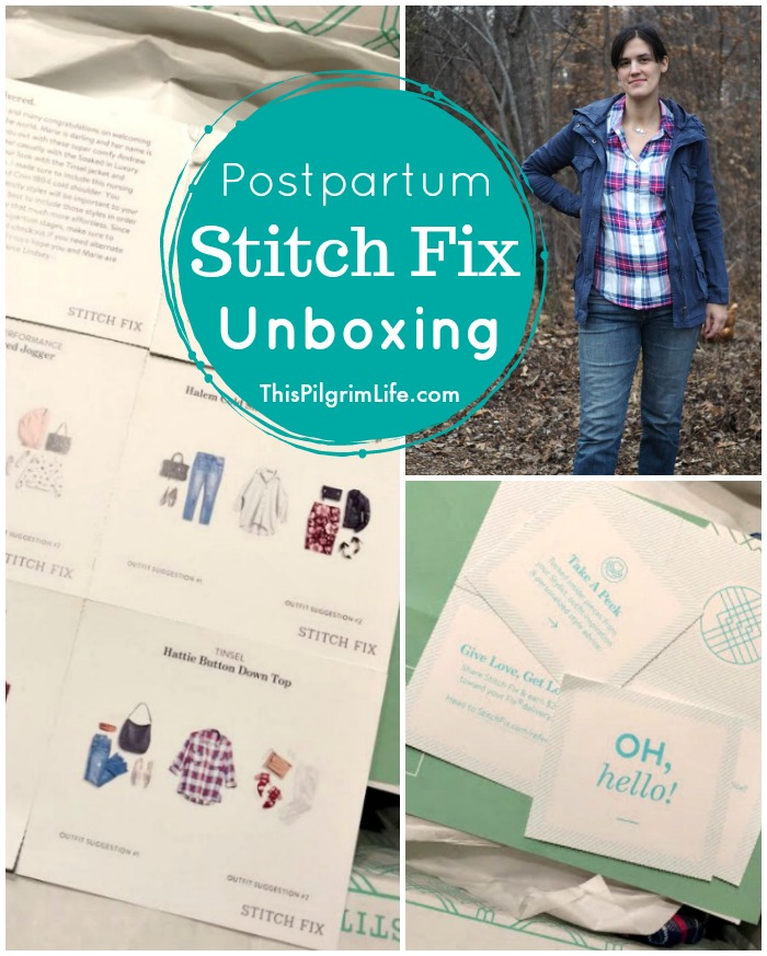 Postpartum Stitch Fix Unboxing