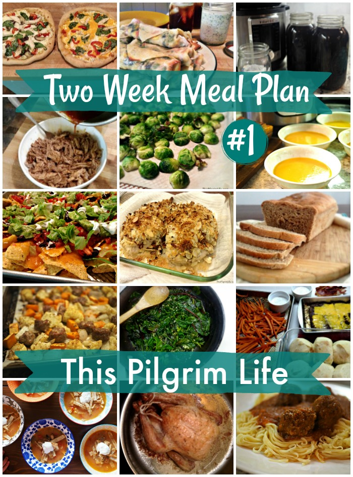 Two Week Meal Plan #1
