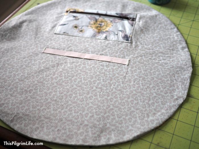 DIY Cinching Make-Up Bag