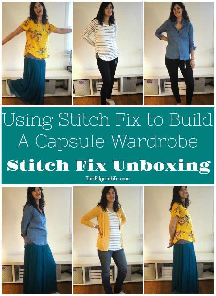 Using Stitch Fix to Build A Capsule Wardrobe :: Stitch Fix Unboxing #3