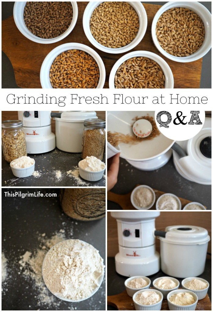 Fresh is best. This is true for fresh flour too! Grinding grain at home yields fresh flour that is rich in vitamins and nutrients, and full of amazing flavor.
