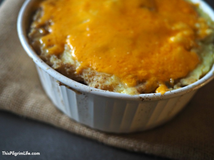 Rich and filling Instant Pot shepherd's pie! No heating up your kitchen or cleaning up multiple pots and pans!