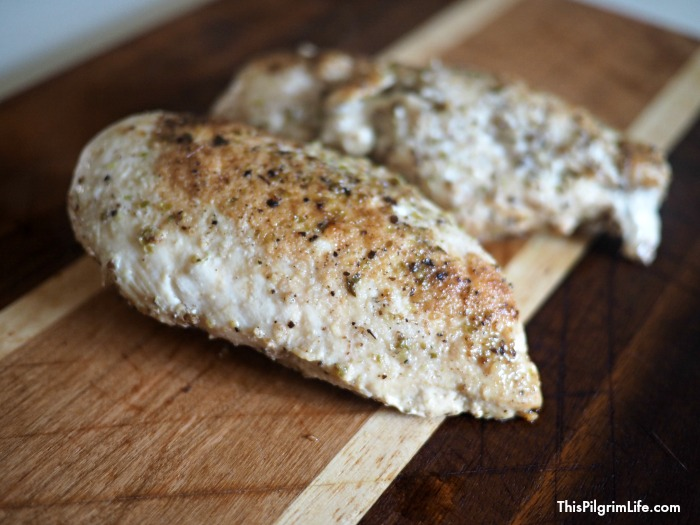 ridiculously easy instant Pot chicken breasts
