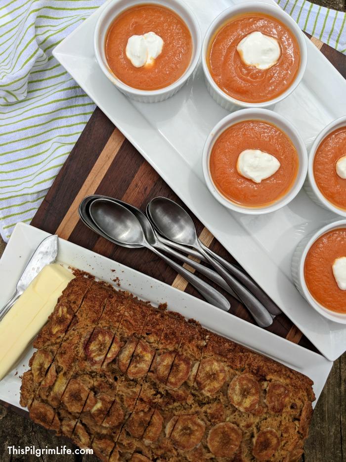 Instant Pot honey carrot soup