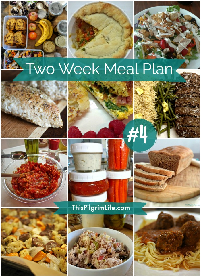 Two Week Meal Plan #4