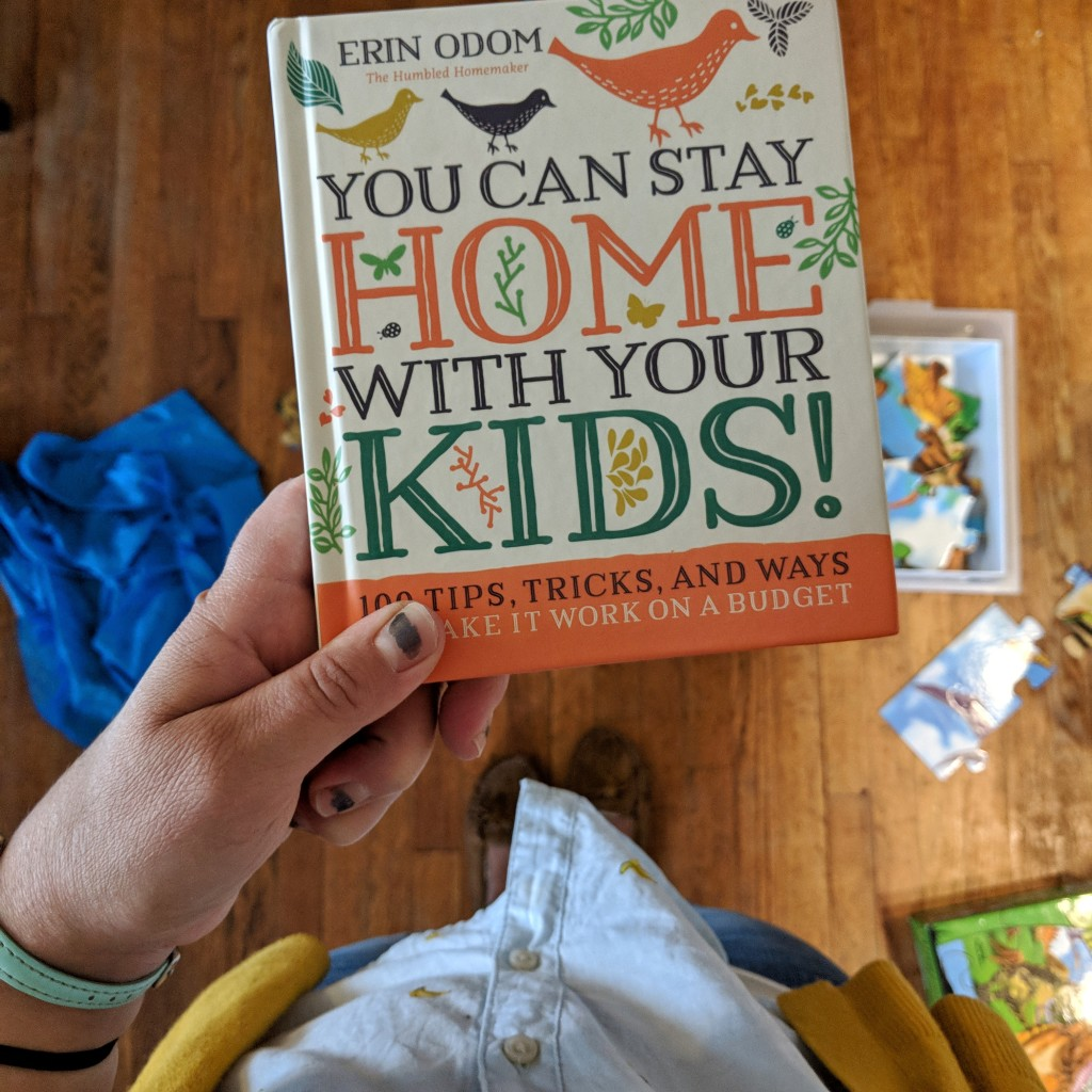 You can stay home with your kids book