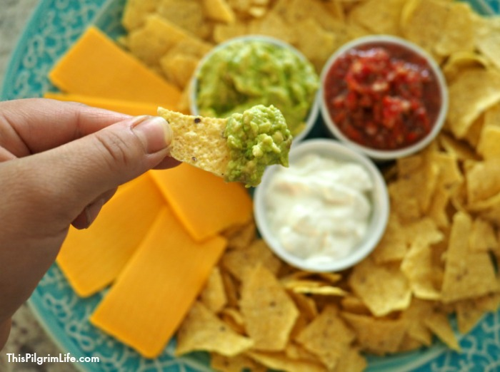 This easy guacamole can be made in ONE MINUTE! We're talking change-your-life simple and delicious!
