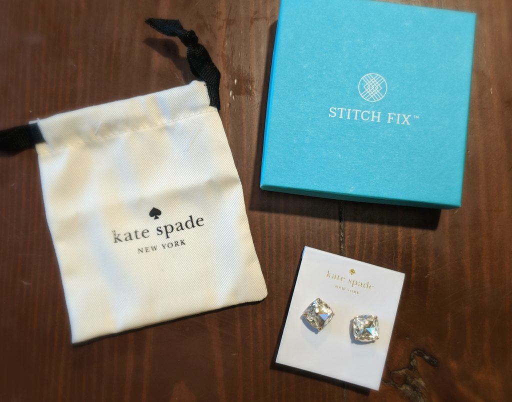 Kate Spade :: Small Square Studs :: $38