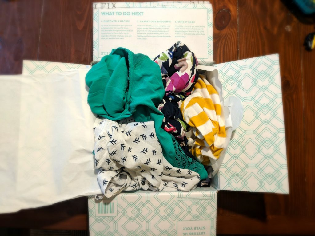 I asked Stitch Fix to send me a box for my birthday this week. See what they sent and tell me what you think!