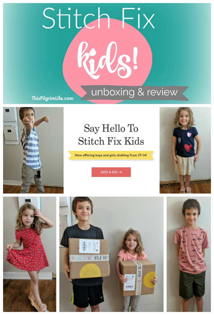 Stitch Fix Kids Unboxing & Review #1