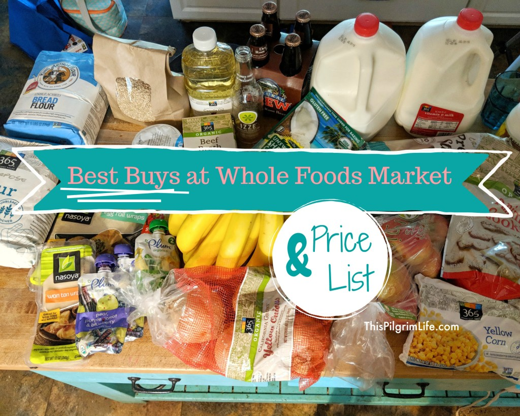 Is Whole Foods reasonably priced or too expensive? Find out why this mom of five shops at there regularly, and what the best buys are at Whole Foods Market. Plus, get a price list of over forty different items in the store!
