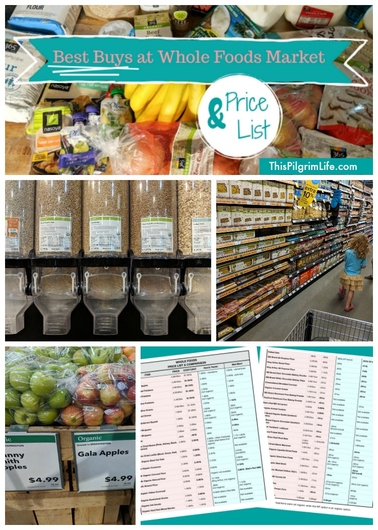 Best Buys at Whole Foods Market (& Price List!)