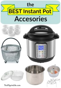 These are the BEST Instant Pot accessories to have on hand in your kitchen! Each is durable, inexpensive, and can be used for many kinds of recipes!