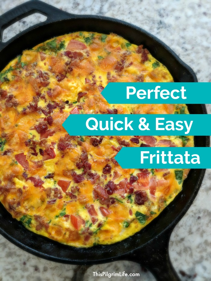 Perfect Quick & Easy Frittata