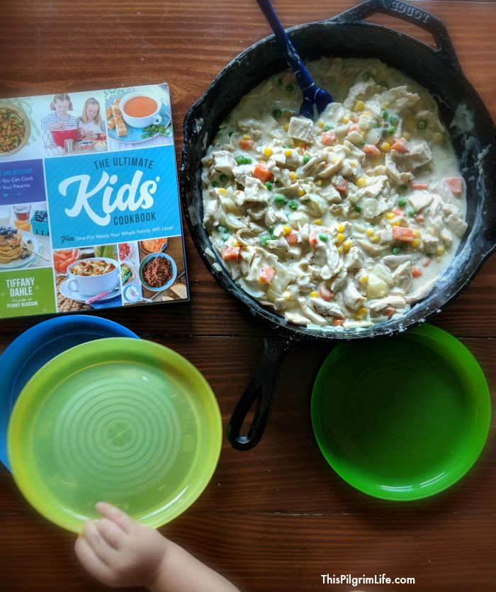 Teaching your kids to cook is a great goal, but actually getting your kids in the kitchen can be overwhelming and you wonder where to even start! Here are five practical ways to get your kids involved (and learning) in making meals in your home.