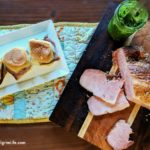 Juicy ham with a tangy and sweet honey mustard glaze easily cooked right in your Instant Pot! Use the ham for a simple, tasty dinner, or use it to make these amazing honey mustard ham and pesto melts! You're going to love this Instant Pot ham!