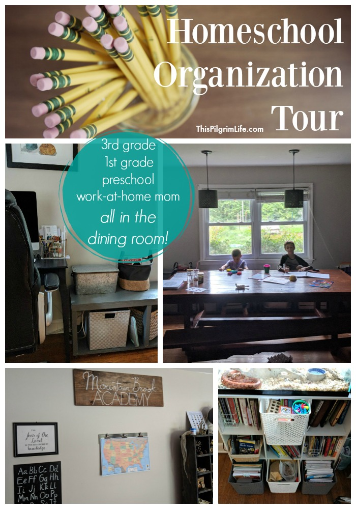 Homeschool Organization Tour