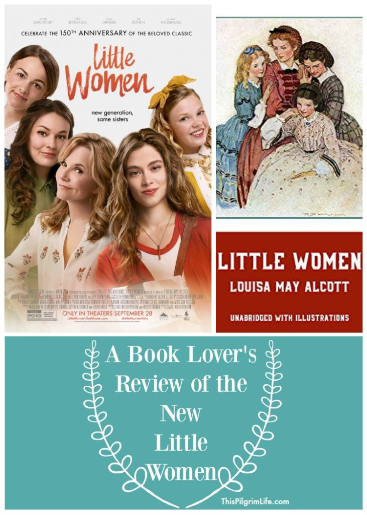 You love Louisa May Alcott's book Little Women, but will you love the new modernized remake of Little Women? This book series is a personal favorite of mine, and I sharing a review of the new Little Women after seeing it in the theater.