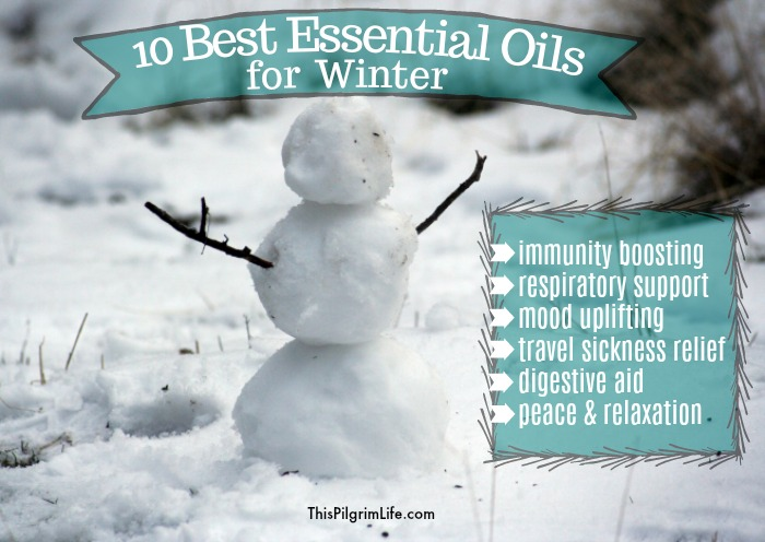 These are ten of the best essential oils for winter. We use them daily to support and strengthen our immune systems, bring relief to sore throats and congestion, soothe upset stomachs, fill our home with relaxing and peaceful aromas, and so much more!