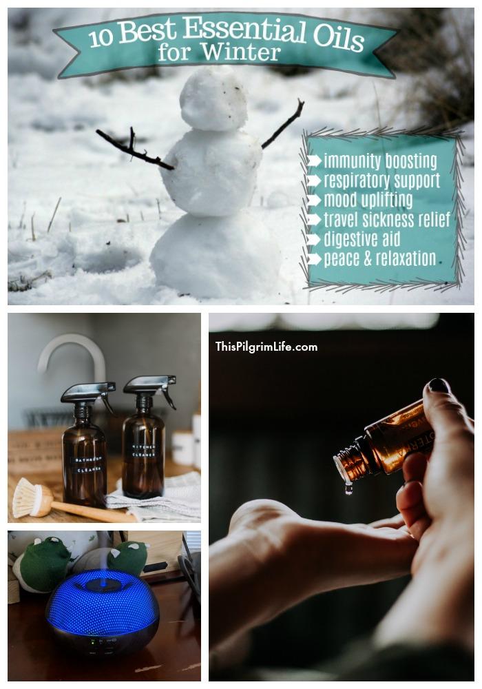 Ten Best Essential Oils for Winter