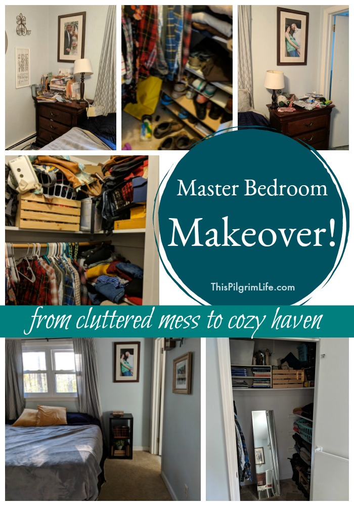Master Bedroom Makeover– From Cluttered Mess to Cozy Haven