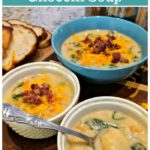 This Instant Pot gnocchi soup is creamy, sweet perfection. It's potato soup taken up a notch, with pillowy potatoes and vegetables, but still with the comfort of a bowl of potato soup topped with cheese and bacon.