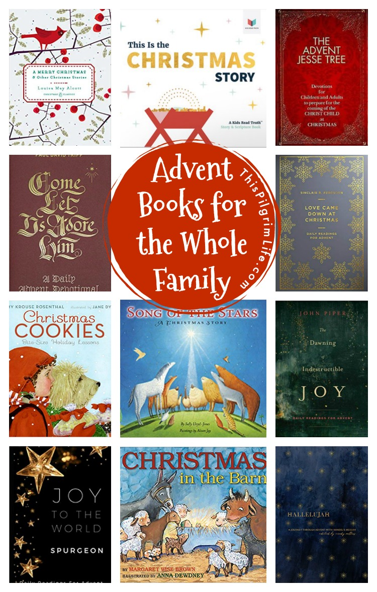 December isn't just about making wishlists and eating cookies! This list of Advent books for the whole family will help you to savor the season and find the wonder and joy of anticipating the coming of the Savior.