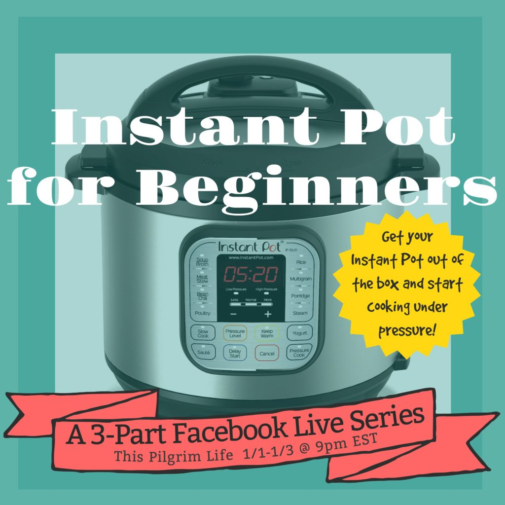 Instant Pot for Beginners 3-Part Video Series