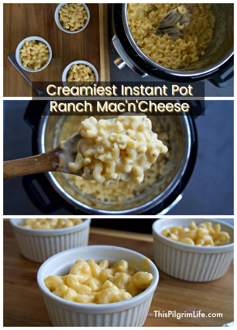 Creamiest Instant Pot Ranch Mac'n'Cheese