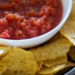 This super delicious restaurant-style salsa takes less than 10 minutes to prepare, is made with pantry ingredients, and can be customized according to your family's preferences!