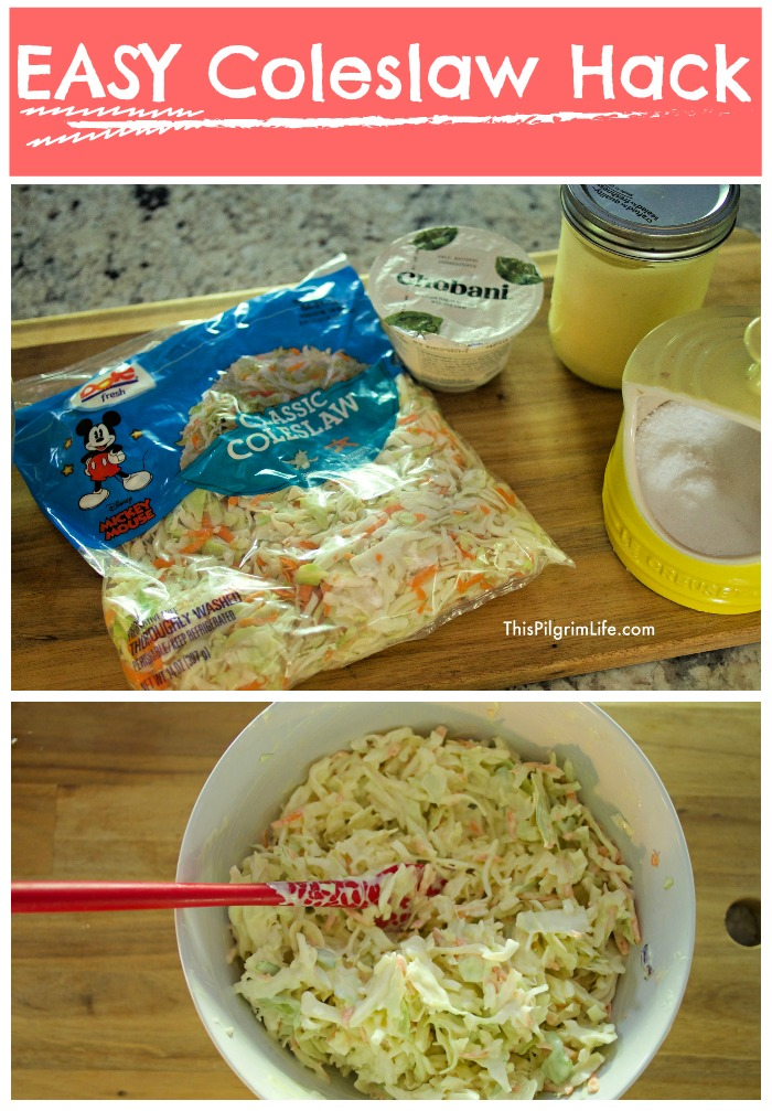 EASY Coleslaw Hack