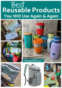 These reusable products can be used again and again, helping you save money and reduce waste!